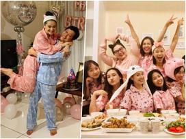 Chỉ từ sinh nhật Trường Giang, Nhã Phương vừa lộ thông tin con gái vừa thể hiện sở thích ăn mặc cực kỳ thú vị