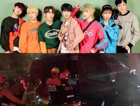 Nhóm nhạc nam Kpop bị tai nạn nghiêm trọng, quản lý qua đời