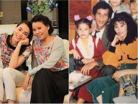 Khoe ảnh con gái gần 30 năm trước, mẹ Hồ Ngọc Hà tự hào khen: 'Từ nhỏ mặt cô ấy đã sáng rồi'
