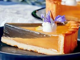 Bánh tart thạch chanh món tráng miệng thanh mát mùa hè