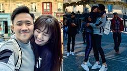 Trấn Thành - Hari Won biến mọi con phố nước Pháp thành thiên đường của những nụ hôn