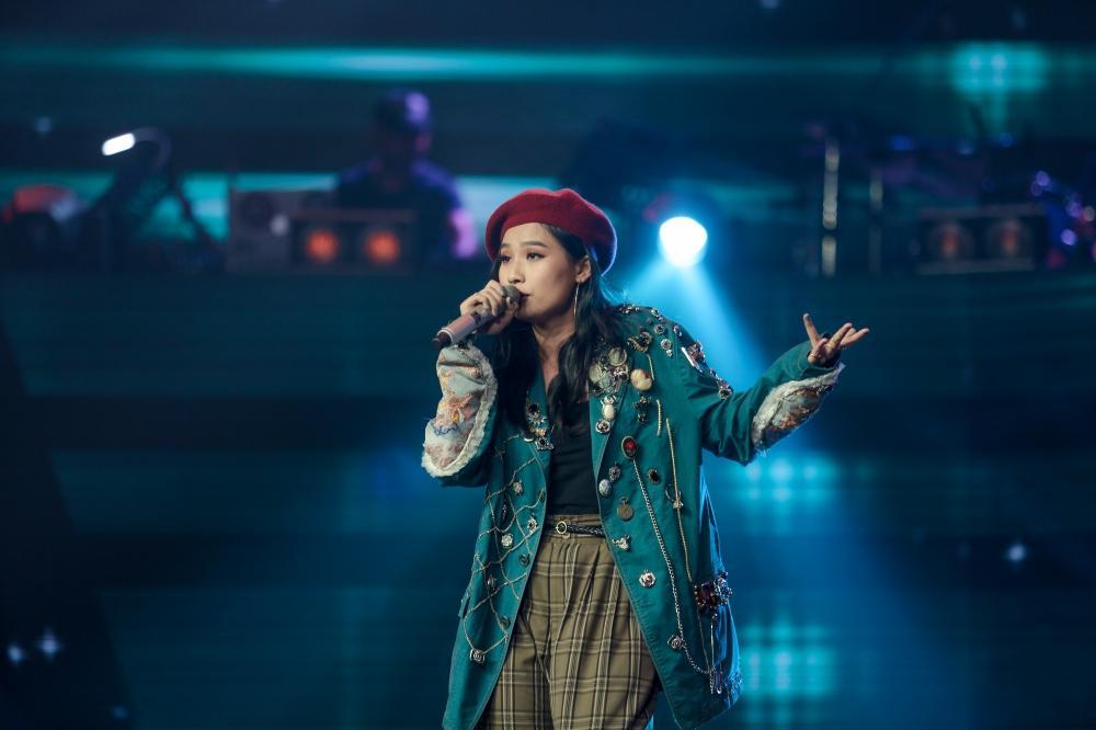 Cô gái có giọng hát diva lột xác ngoạn mục sau khi giảm cân khiến Thanh Hà phải bấm chặn Tuấn Hưng-7