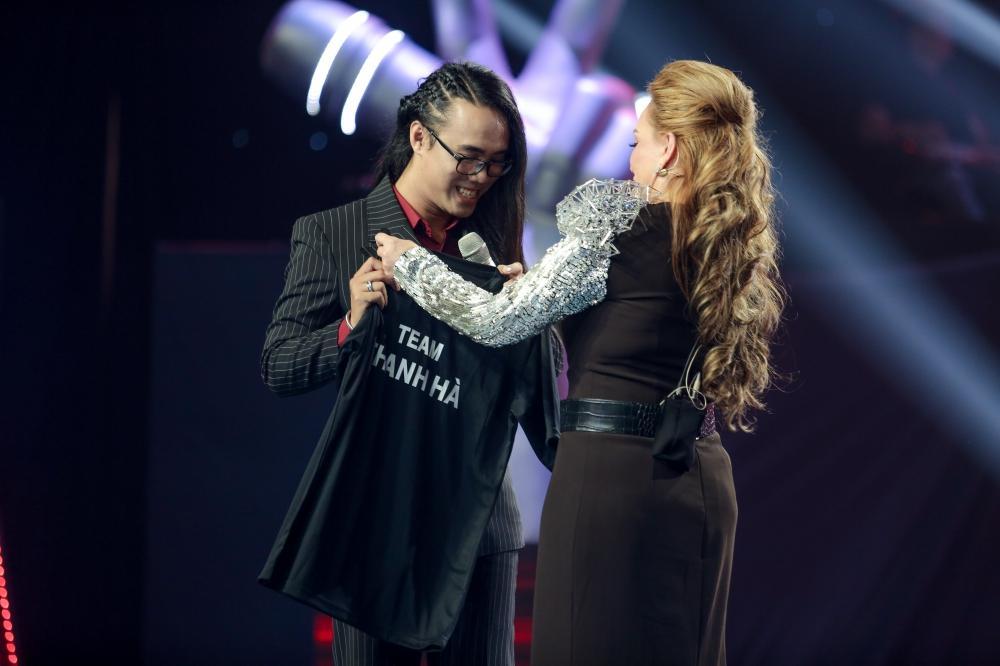 Cô gái có giọng hát diva lột xác ngoạn mục sau khi giảm cân khiến Thanh Hà phải bấm chặn Tuấn Hưng-9
