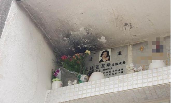 Bia mộ của Lam Khiết Anh bị vấy bẩn, không người thăm nom-2