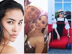 Phạm Hương thông báo trở về Việt Nam nhưng ai nấy chỉ quan tâm sắc vóc hoa hậu sao giống y chang mẹ bỉm sữa-7