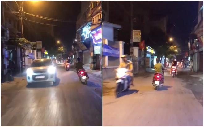 Nhìn ninja lead lạng lách đánh võng trên đường, tài xế ô tô sợ khiếp vía: Vợ ai thì ra đón về đi-2