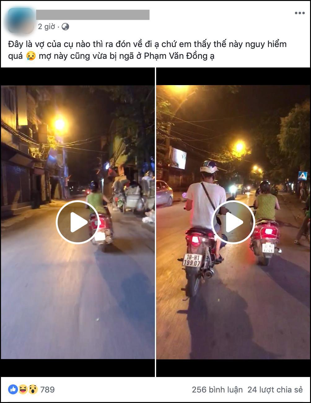 Nhìn ninja lead lạng lách đánh võng trên đường, tài xế ô tô sợ khiếp vía: Vợ ai thì ra đón về đi-1