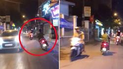 Nhìn 'ninja lead' lạng lách đánh võng trên đường, tài xế ô tô sợ khiếp vía: 'Vợ ai thì ra đón về đi'
