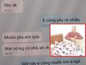 Vụ vợ giáo viên khoả thân 'chữa sốt rét' cùng đồng nghiệp trong nhà nghỉ: Lộ nhiều tin nhắn tình cảm, xưng vợ chồng?