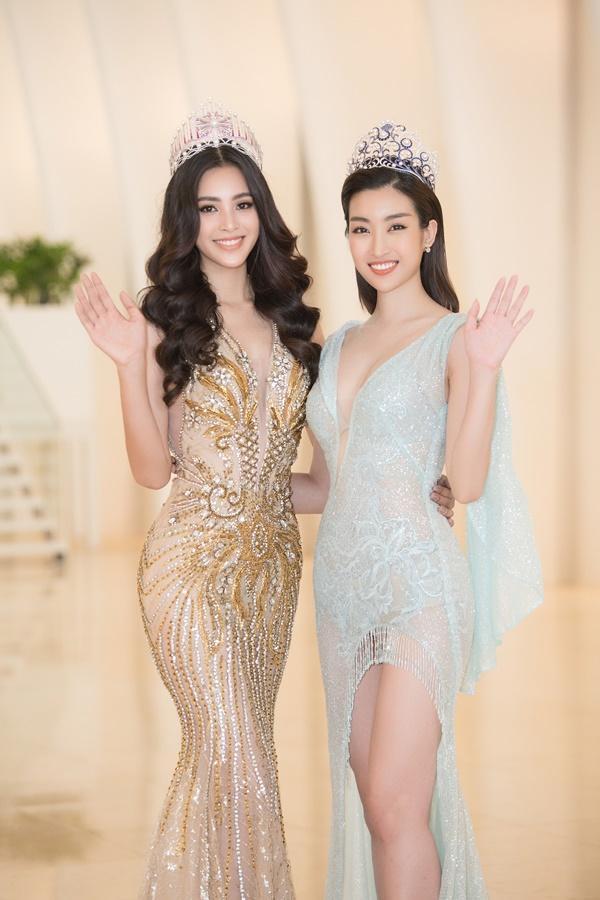 Trần Tiểu Vy - Đỗ Mỹ Linh đọ sắc bất phân thắng bại, bắt tay tìm kiếm mỹ nhân Việt thi Miss World 2019-5