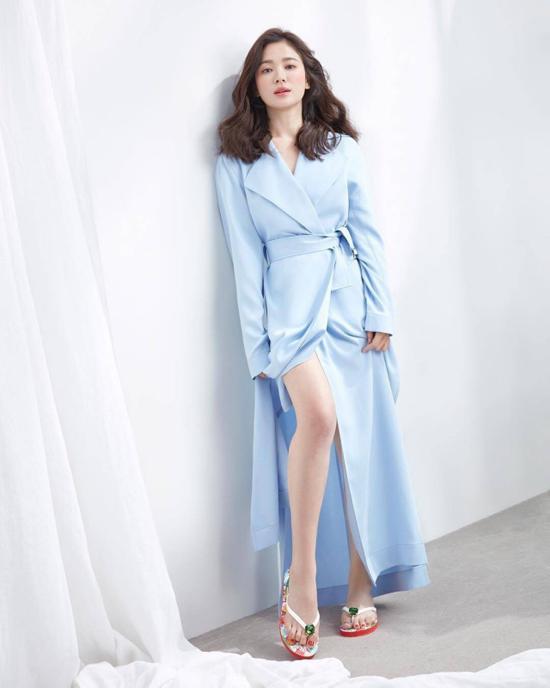 Hậu trường chụp ảnh xinh như nàng thơ đôi mươi của Song Hye Kyo-8