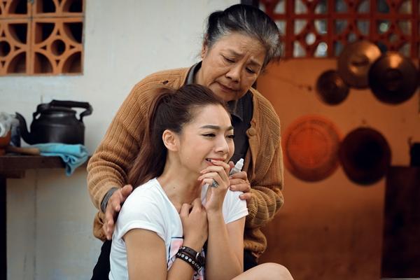 Con gái chưởng môn Vịnh Xuân bị gọi là thảm họa vì diễn cảnh khóc mà như... đang cười-2