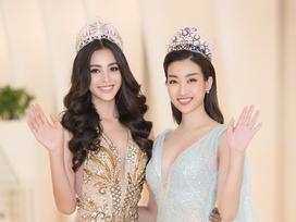 Trần Tiểu Vy - Đỗ Mỹ Linh đọ sắc bất phân thắng bại, bắt tay tìm kiếm mỹ nhân Việt thi Miss World 2019