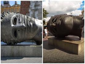 Đến thành phố di sản của Ba Lan xem tượng 'đầu người' độc đáo