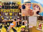 CHẤT CHƠI như Kỳ Duyên: Vận chuyển một lô đồ đạc sang Indonesia làm tiệc mừng sinh nhật Minh Triệu