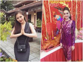 Mai Phương Thúy, Phi Thanh Vân... có mặc phản cảm khi cúng tổ nghề?