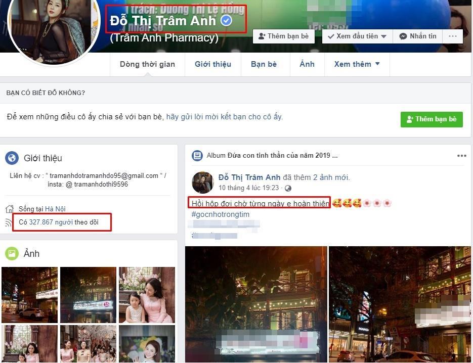 Facebook hotgirl Trâm Anh tăng hơn 100k lượt follow, được cấp tick xanh chính chủ sau scandal bị nghi lộ clip nóng-6