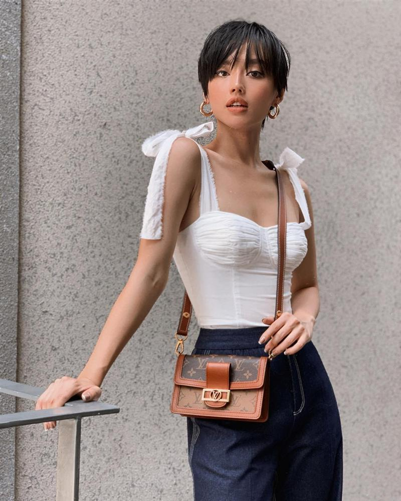 Châu Bùi trốn nóng ở Seoul - Chi Pu tăng nhiệt sàn diễn đường phố với đầm sequin lấp lánh-8