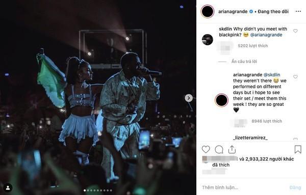 Khoảnh khắc hot nhất tháng 4: Ariana Grande hội ngộ BlackPink, chỉ có điều chưa thể trọn vẹn…-3