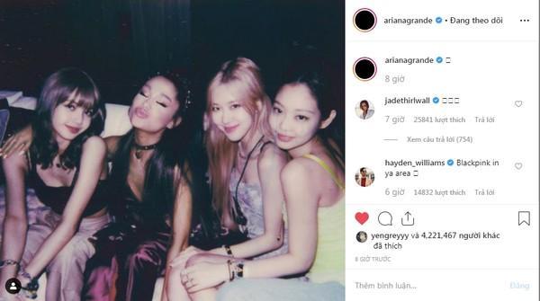 Khoảnh khắc hot nhất tháng 4: Ariana Grande hội ngộ BlackPink, chỉ có điều chưa thể trọn vẹn…-5