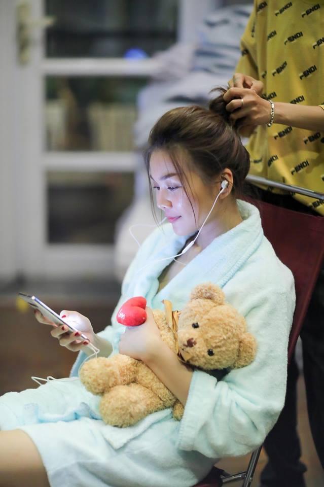 Minh Triệu khoe quà sinh nhật đặc biệt do Kỳ Duyên tình nguyện làm người vận chuyển-10