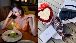 Minh Triệu khoe quà sinh nhật đặc biệt do Kỳ Duyên tình nguyện làm người vận chuyển