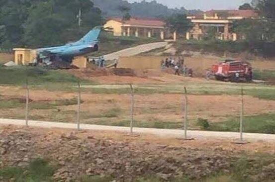 Máy bay chiến đấu Su-22 gặp nạn ở Yên Bái-1