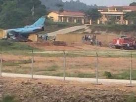 Máy bay chiến đấu Su-22 gặp nạn ở Yên Bái