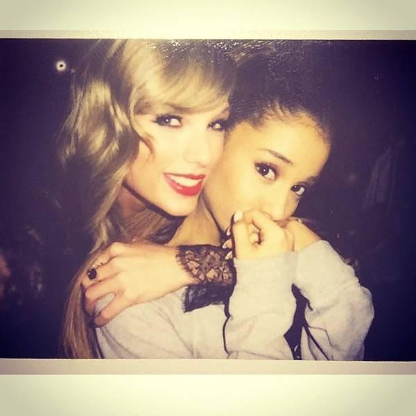 Không phải Adele, Ariana Grande sẽ là người hợp tác với Taylor Swift trong sản phẩm bí mật?-1