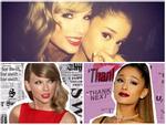 Không phải Adele, Ariana Grande sẽ là người hợp tác với Taylor Swift trong sản phẩm bí mật?