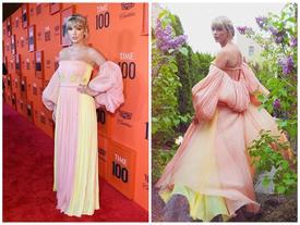 'Rắn chúa' Taylor Swift bất ngờ quay về hình ảnh hơi sến sẩm của một cô 'công chúa nhạc đồng quê'