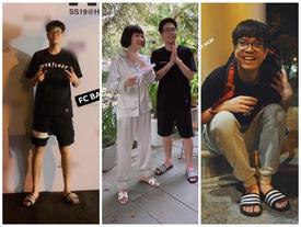 Giản dị như Bùi Anh Tuấn: Chỉ một đôi dép lê, trên áo phông - dưới quần đùi mà tung tăng đi khắp thế giới