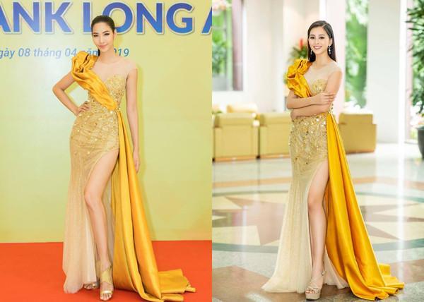SAO ĐỤNG HÀNG THÁNG 4: Áp đảo Quỳnh Thư nhưng Đỗ Mỹ Linh vẫn phải nhường bước trước Hương Giang khi mặc chung váy-4