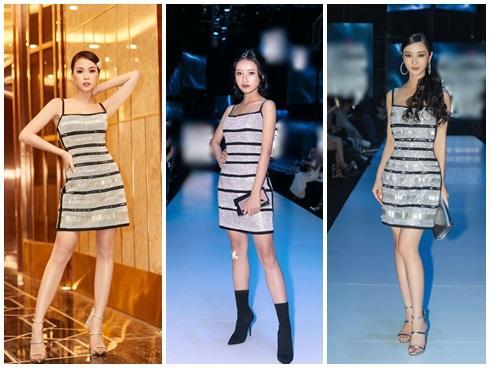 SAO ĐỤNG HÀNG THÁNG 4: Áp đảo Quỳnh Thư nhưng Đỗ Mỹ Linh vẫn phải nhường bước trước Hương Giang khi mặc chung váy-8