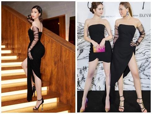 SAO ĐỤNG HÀNG THÁNG 4: Áp đảo Quỳnh Thư nhưng Đỗ Mỹ Linh vẫn phải nhường bước trước Hương Giang khi mặc chung váy-9