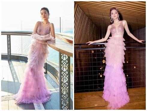 SAO ĐỤNG HÀNG THÁNG 4: Áp đảo Quỳnh Thư nhưng Đỗ Mỹ Linh vẫn phải nhường bước trước Hương Giang khi mặc chung váy-1