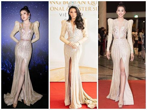 SAO ĐỤNG HÀNG THÁNG 4: Áp đảo Quỳnh Thư nhưng Đỗ Mỹ Linh vẫn phải nhường bước trước Hương Giang khi mặc chung váy-5