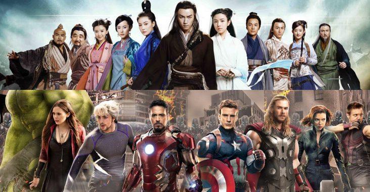 Vũ trụ siêu anh hùng châu Á - Kim Dung có là bá chủ?-1