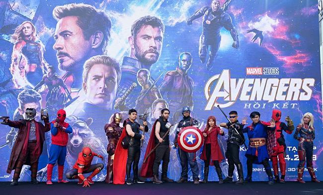Dàn sao Việt chấp nhận nhịn đi vệ sinh trong 3 tiếng để xem Avengers: Endgame-1