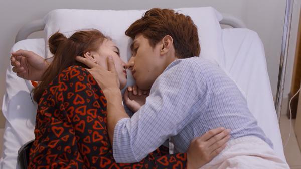Lan Ngọc và Bình An trao nhau nụ hôn đầu trong tập 53 Mối Tình Đầu Của Tôi-8