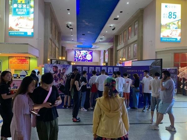 Vừa mở màn kỷ lục ở Trung Quốc, Avengers: Endgame đã bị quay lén-2