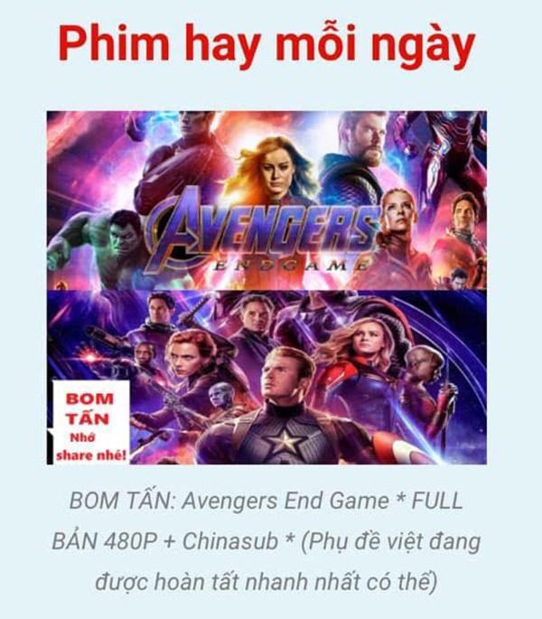 Vừa mở màn kỷ lục ở Trung Quốc, Avengers: Endgame đã bị quay lén-5