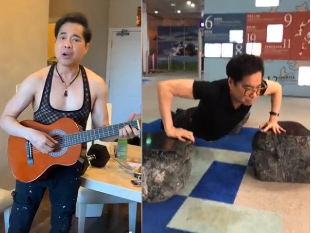 U50 Ngọc Sơn khoe cơ bắp chắc nịch, hé lộ quà khủng nặng 30kg được fan tặng-3
