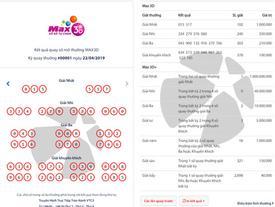 Vừa ra mắt Max3D, đã có khách trúng ngay 1 tỷ đồng