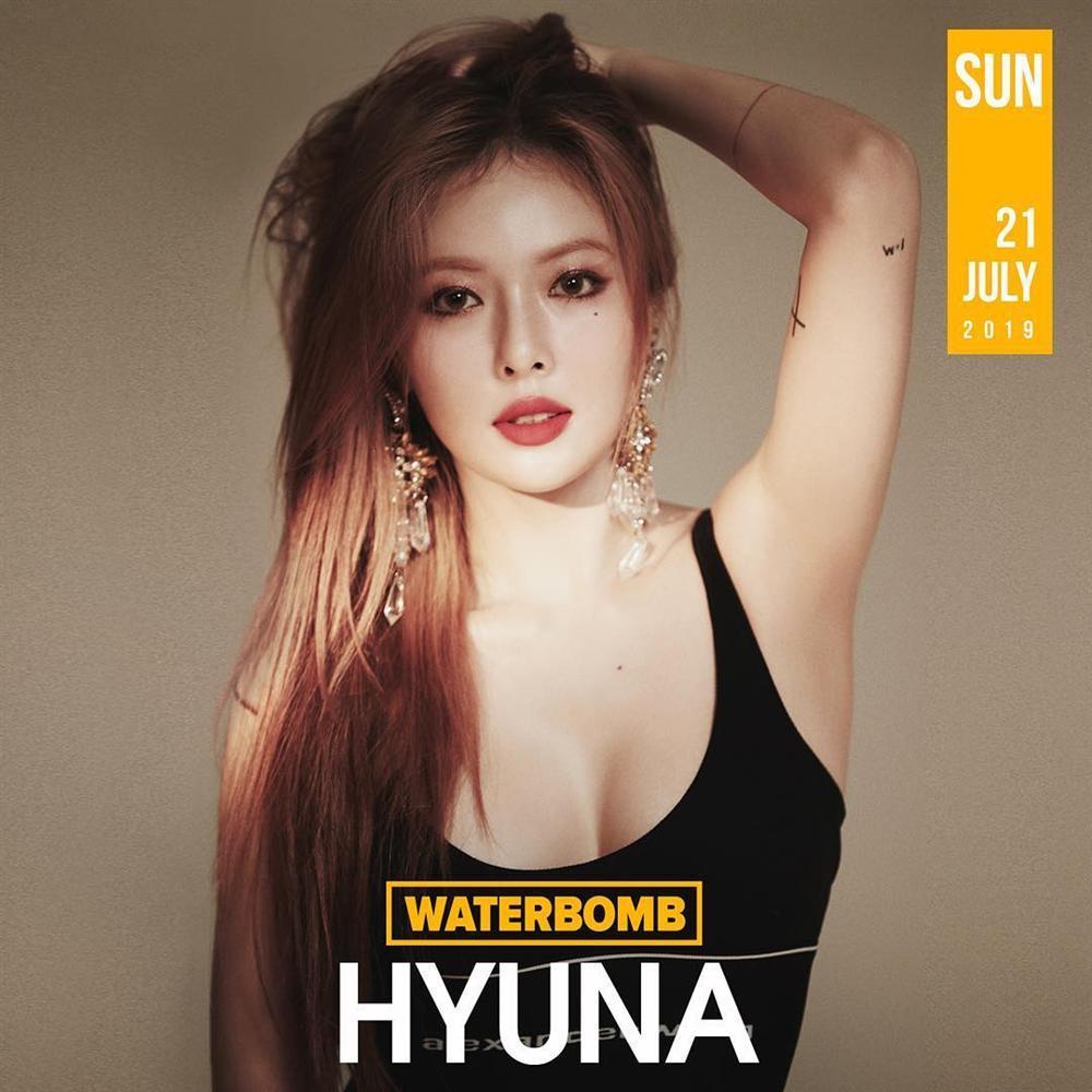 Quả bom sexy HyunA xác nhận tham gia WaterBomb 2019, hứa hẹn màn trở lại nóng bỏng hơn bao giờ hết-1