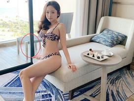 Bị 'bóc phốt' photoshop cong cửa, Thúy Vi phát ngôn sốc: 'Định khoe cơ bụng mà người xem chỉ chú ý đến ngực và cửa'
