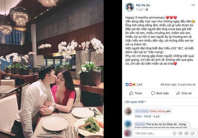 Đăng ảnh tình tứ với bạn trai mới, con dâu hụt của nghệ sĩ Hương Dung bị phát hiện điểm lạ trên gương mặt-2