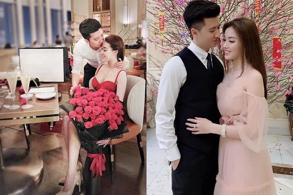 Đăng ảnh tình tứ với bạn trai mới, con dâu hụt của nghệ sĩ Hương Dung bị phát hiện điểm lạ trên gương mặt-1