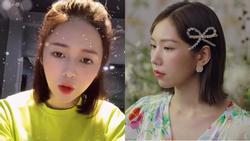 Tưởng chỉ cover cho vui, ai ngờ người yêu Trịnh Thăng Bình gián tiếp tố hit mới của MIN đạo nhạc