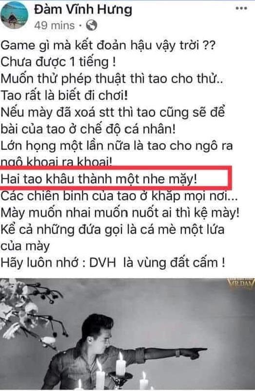 Dân mạng đòi tẩy chay ca sĩ Đàm Vĩnh Hưng vì phát ngôn chợ búa-3